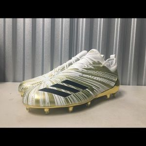 Adidas Adizero 5-Star 7.0 Gold Cleats